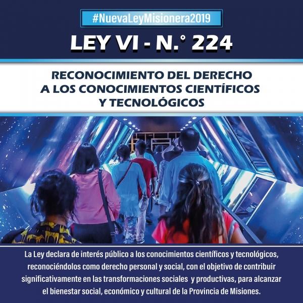 DERECHO A LOS CONOCIMIENTOS CIENTÍFICOS Y TECNOLÓGICOS