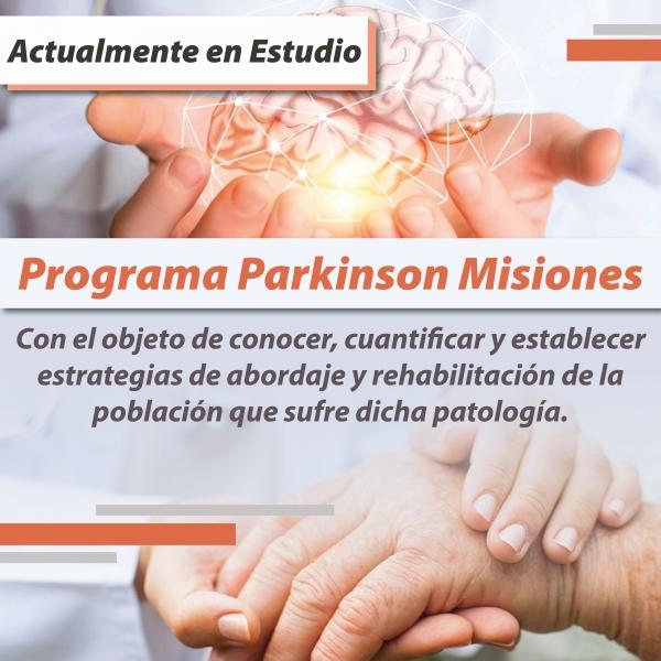 Parkinson Misiones Ley en Estudio
