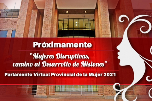 Parlamento Virtual Provincial de la Mujer 2021